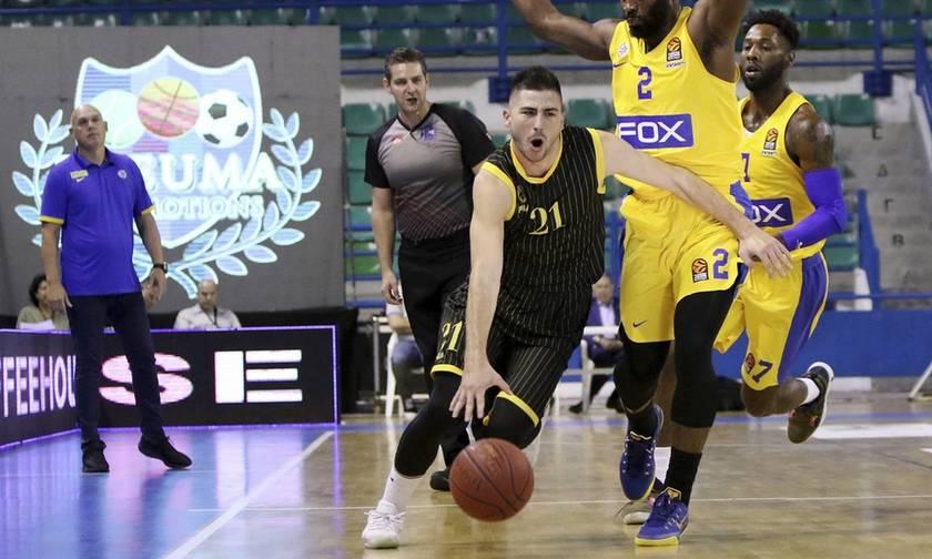 H AEK νίκησε την Μακάμπι και κατέκτησε το τουρνουά στην Κύπρο