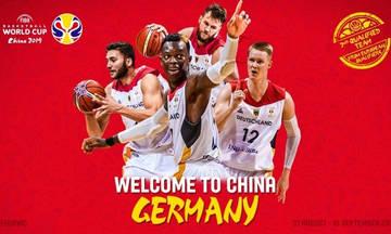 Η Γερμανία ακολούθησε την Ελλάδα στο Μουντομπάσκετ της Κίνας