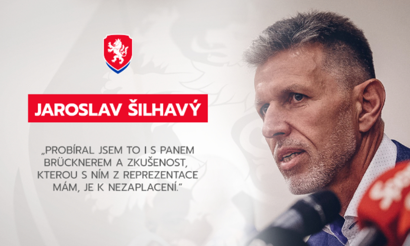 Επίσημο: Ο Σίλχαβι νέος προπονητής της Τσεχίας