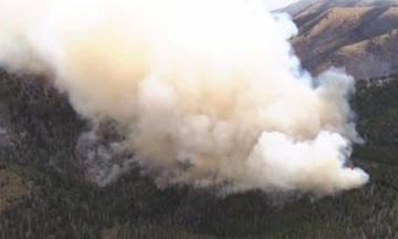 Φωτιά σε δύσβατη περιοχή στη Ζάκυνθο - Καίγεται δάσος