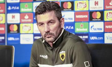 Ουζουνίδης: «Πρέπει να κάνουμε γκολ τις ευκαιρίες μας απέναντι στον Άγιαξ»