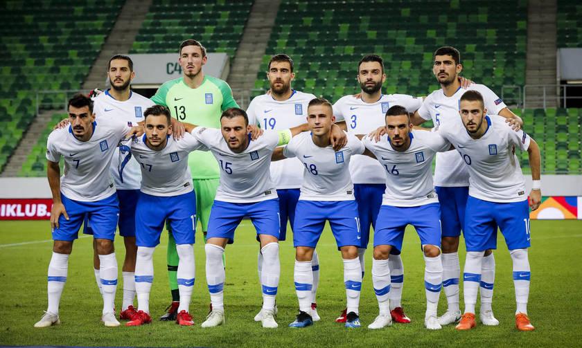 Παρέμεινε 42η η Ελλάδα στην κατάταξη της FIFA