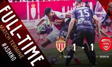 Ligue 1: Αγνοεί τη νίκη η Μονακό