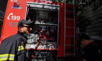 Πυρκαγιά σε κτήριο στο Μοναστηράκι