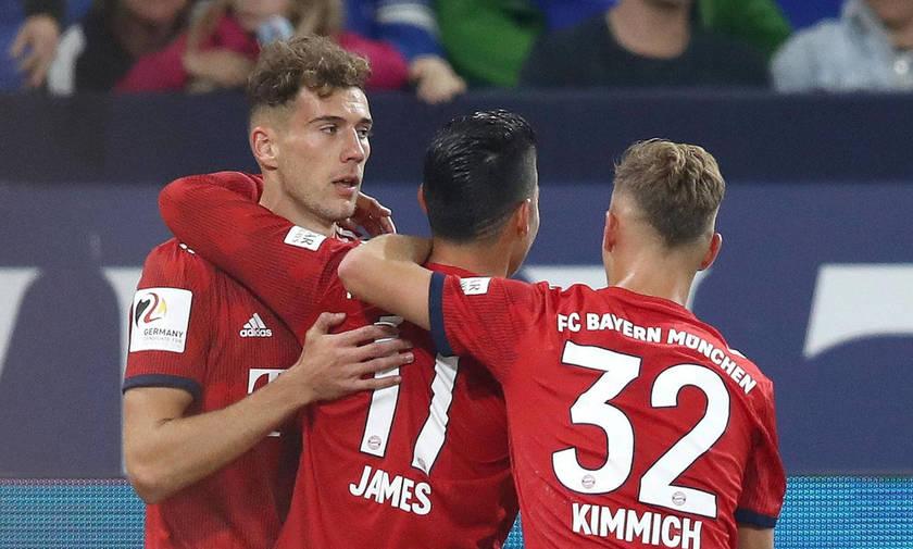 Bundesliga: Ασταμάτητη η Μπάγερν (αποτελέσματα και βαθμολογία)