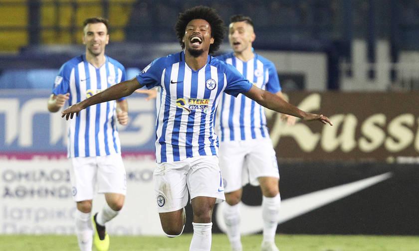 Ατρόμητος-ΑΕΛ 2-0: Με τύχη και Ουγκράι