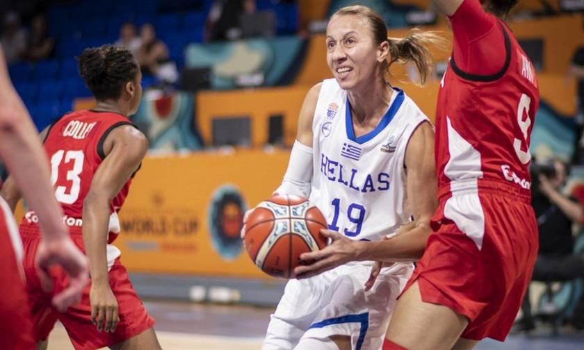 Μουντομπάσκετ: Διασυρμός για την Εθνική Γυναικών στην πρεμιέρα με Καναδά
