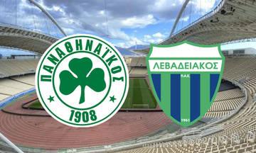 Live: Παναθηναϊκός - Λεβαδειακός 2-0