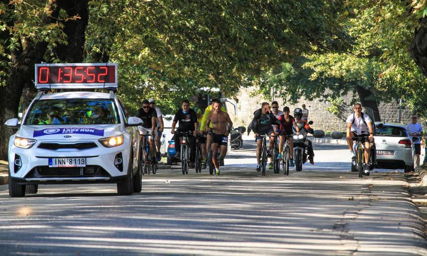 12ος Γύρος Λίμνης Ιωαννίνων: Ρεκόρ διαδρομής και συμμετοχών!
