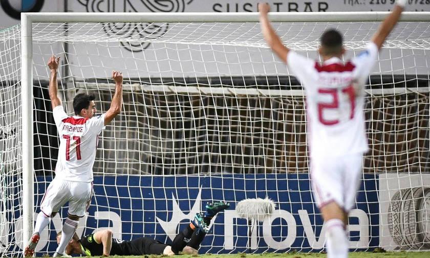 Ολυμπιακός: Εννιά γκολ, εννιά διαφορετικοί σκόρερ