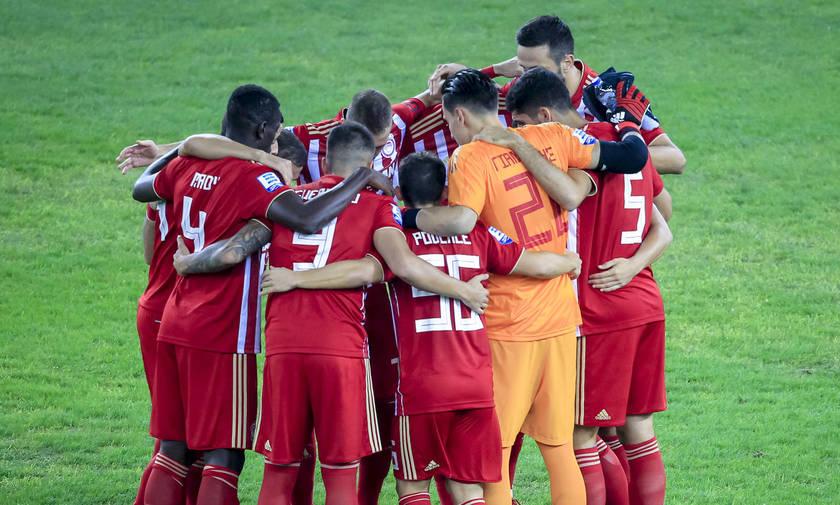 Ολυμπιακός: Η επίσημη φωτογράφιση της ομάδας (pic)