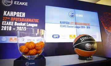 Oι 11 ομάδες της Basket League στην ΕΡΤ