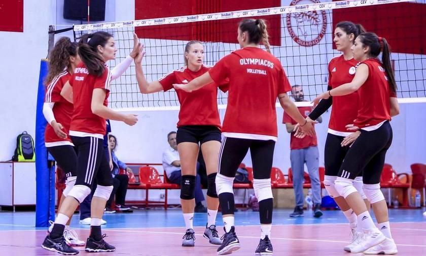 O Ολυμπιακός χωρίς Χίπε νίκησε με 4-0 τον Πορφύρα