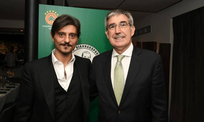Φωτογραφήθηκαν αγκαλιασμένοι οι Γιαννακόπουλος και Μπερτομέου (pic)