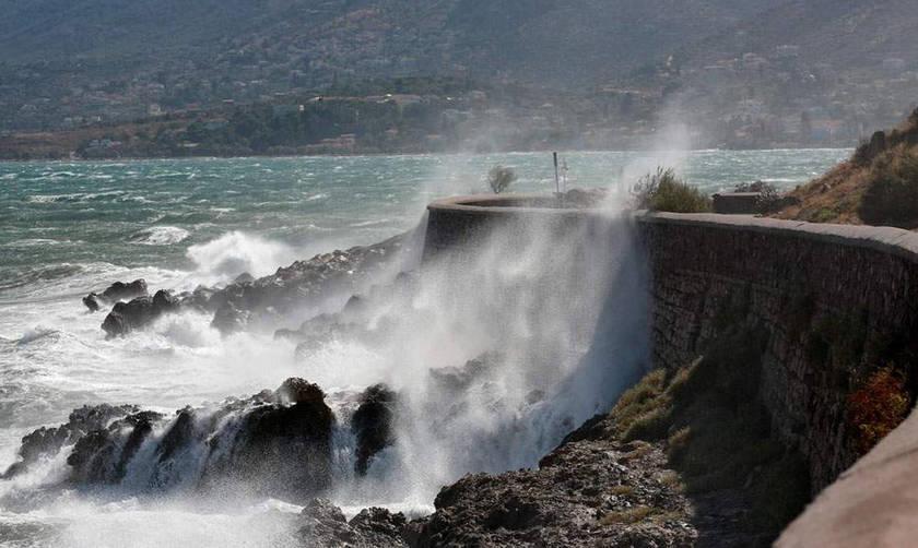 Χαλάει περισσότερο ο καιρός, θερμοκρασία 16 βαθμοί στην Αθήνα, έρχονται άνεμοι 12 μποφόρ!