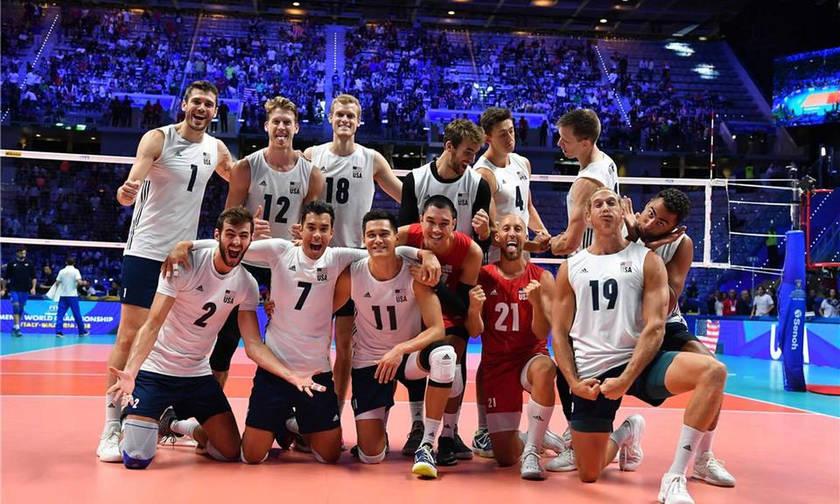 Στα ημιτελικά του Παγκοσμίου Πρωταθλήματος Βόλεϊ  Βραζιλία-Σερβία (6μμ), Πολωνία-ΗΠΑ (10.15μμ) (vid)