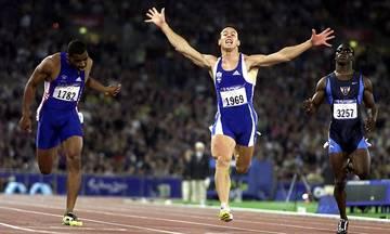Η εκπληκτική κούρσα του Κώστα Κεντέρη στον τελικό των 200μ. το 2000 στο Σίδνεϊ (video)