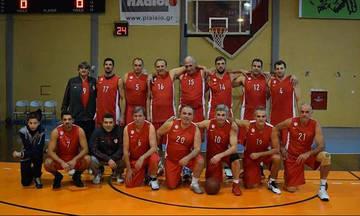 Παλαίμαχοι Ολυμπιακού και ΣΠΑΚΕ σε αγώνα μπάσκετ για καλό σκοπό!
