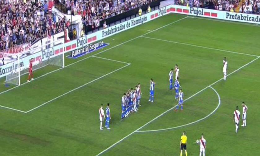 La Liga: Ματσάρα στο «Βαγιέκας»