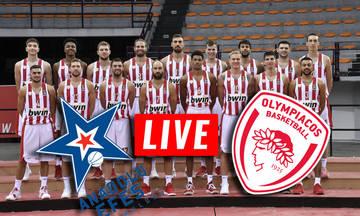 LIVE streaming: Αναντολού Εφές - Ολυμπιακός