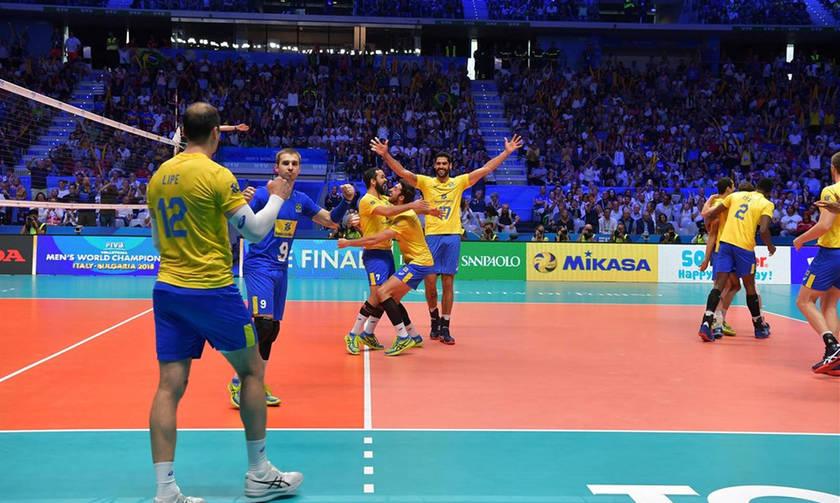 Παγκόσμιο Πρωτάθλημα Βόλεϊ: Στον τελικό η Βραζιλία