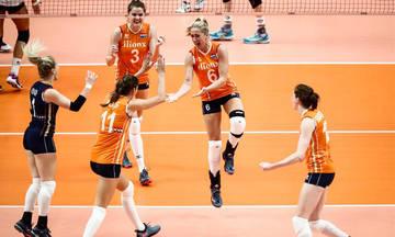 Παγκόσμιο Πρωτάθλημα Βόλεϊ Γυναικών: Η Ολλανδία κέρδισε τη Γερμανία της Πολ