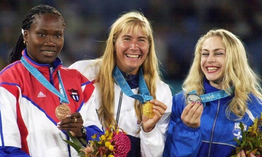 Το ασημένιο μετάλλιο της Μανιάνι στο Σίδνεϊ πριν 18 χρόνια