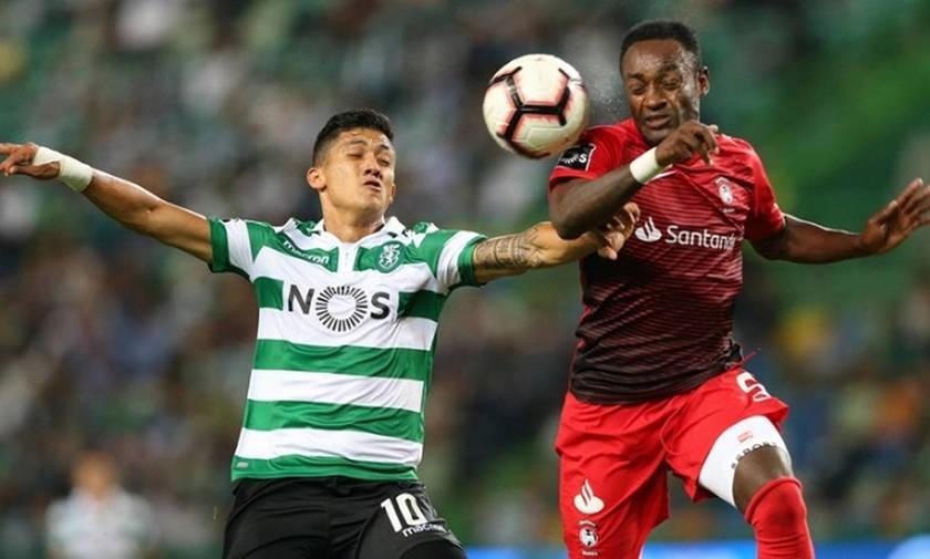 Primeira Liga: «Καθάρισε» από το πρώτο μέρος η Σπόρτινγκ