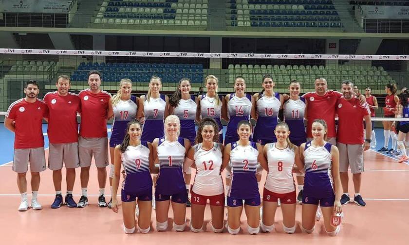 Με 20 πόντους της Χίπε ο Ολυμπιακός 2-2 με την Turkish Airlines