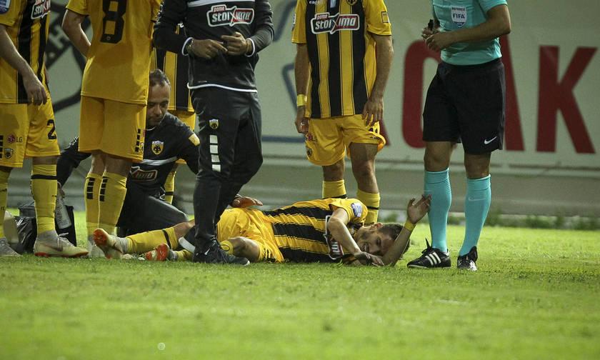 Ρήξη χιαστών ο  Έλντερ Λόπες- Χάνει τη σεζόν