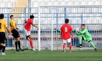 UEFA Youth League: Η Μπενφίκα 3-1 την ΑΕΚ στη Ριζούπολη (vid)