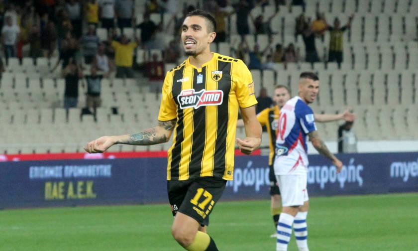 Ο Κλωναρίδης μείωσε σε 2-1 για την ΑΕΚ (vid)