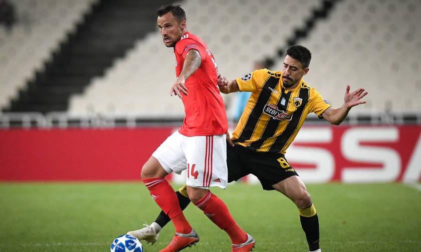 Τα πέντε γκολ στο ΑΕΚ-Μπενφίκα 2-3 (vid)