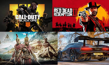 Videogames: Νέες κυκλοφορίες (Οκτώβριος 2018)