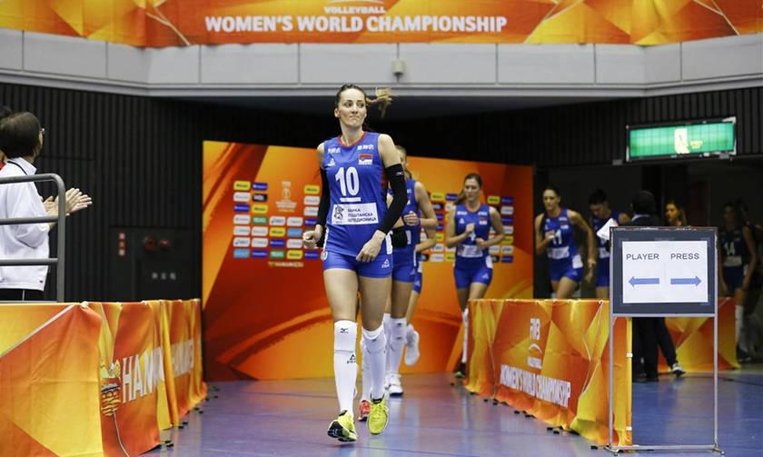 Πρώην παίκτρια του Ολυμπιακού οδηγεί  τη Σερβία στο Παγκόσμιο Πρωτάθλημα Βόλεϊ Γυναικών