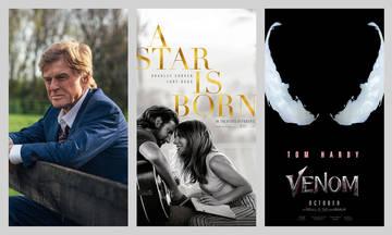 Ταινίες της εβδομάδας: «Ένα αστέρι γεννιέται», «Ο Κύριος και το όπλο» και «Venom»