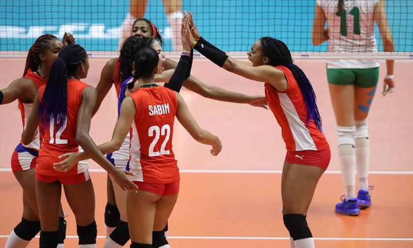 Παγκόσμιο Πρωτάθλημα Βόλει Γυναικών: Διασυρμός της Κούβας(vid, pics)
