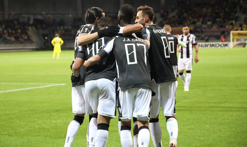 Τα γκολ από το ΜΠΑΤΕ Μπορίσοφ - ΠΑΟΚ 1-4 (vid)