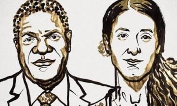 Το Νόμπελ Ειρήνης στον γυναικολόγο Ντένις Μουκουέγκε και την γιαζίντι Νάντια Μουράντ