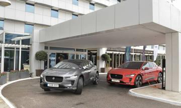 H ηλεκτρική Jaguar στην Ελλάδα