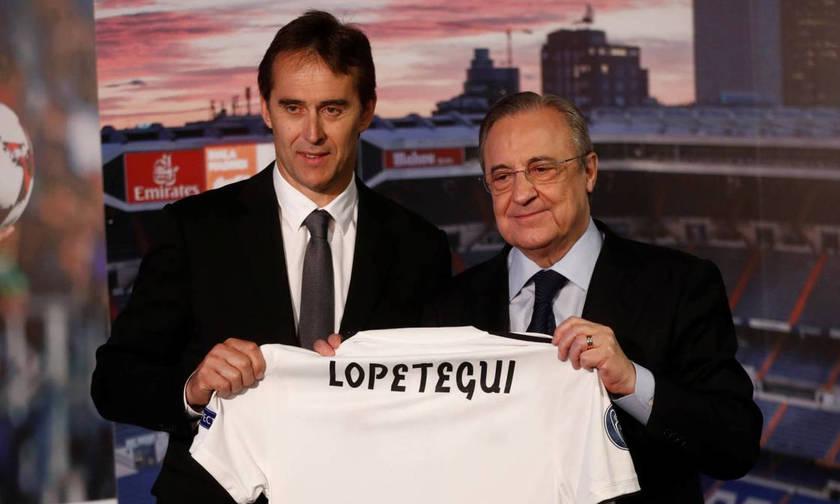 Ρεάλ Μαδρίτης: Δεν ανησυχεί ο Λοπετέγκι για τη θέση του