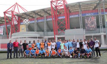 Ολυμπιακός: Στήριξη στην «Αθλητική Ελπίδα Προσφύγων»