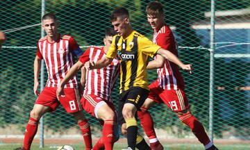 Πρωτάθλημα K-19: Νίκη της ΑΕΚ επί του Ολυμπιακού με 1-0