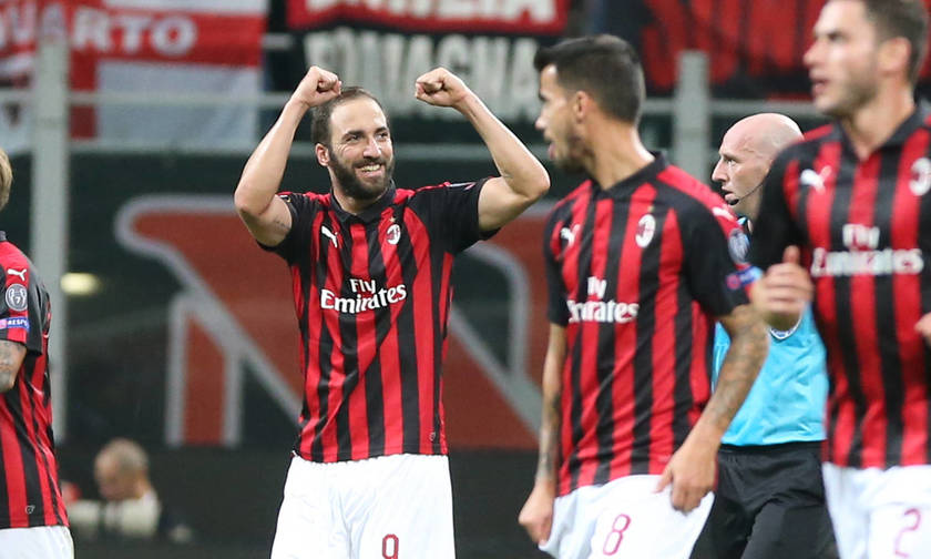 Serie A: Η Μίλαν 3-1 την Κιέβο με δυο γκολ του Ιγκουαΐν