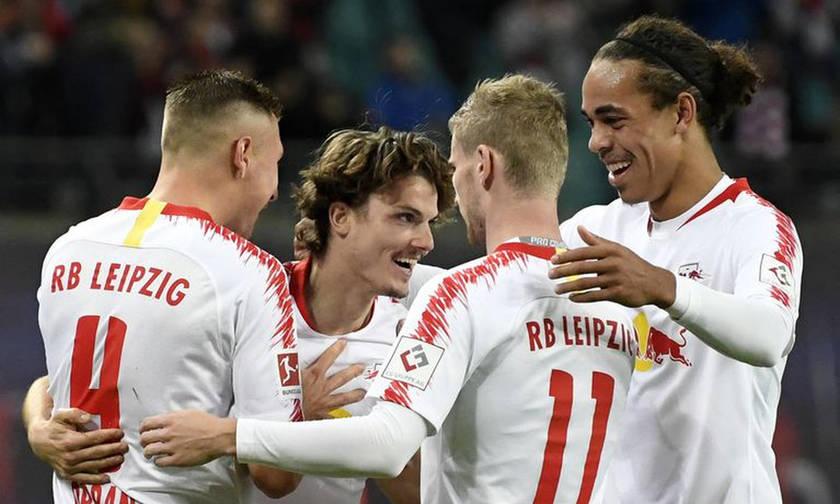 Bundesliga: «Οδοστρωτήρας» η Λειψία (αποτελέσματα και βαθμολογία)