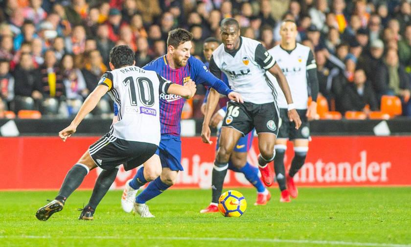 La Liga: Ούτε τώρα η Μπαρτσελόνα, 1-1 με την Βαλένθια (vid)