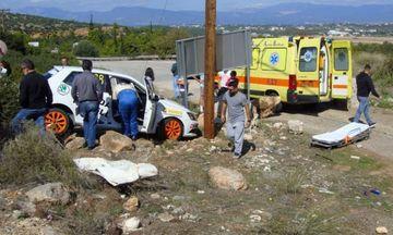Τροχαίο με αγωνιστικό αυτοκίνητο στη Ριτσώνα - Στο νοσοκομείο 47χρονος
