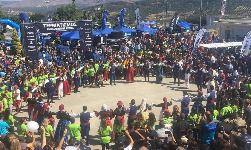 Χαμόγελα και ρεκόρ στον 4ο Ημιμαραθώνιο της Κρήτης