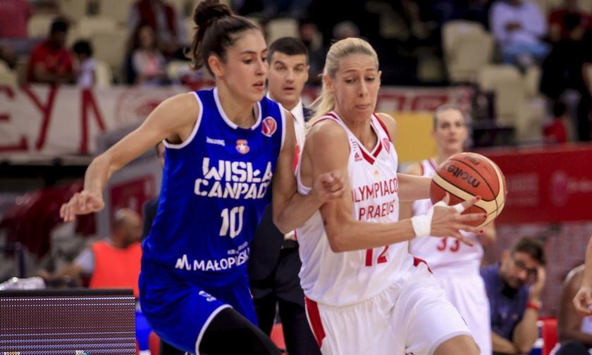 Ολυμπιακός - Βίσλα 63-63: H πρόκριση θα περάσει από την Κρακοβία