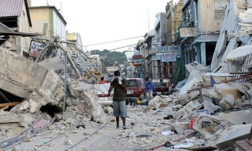 devastating earthquake ravaged haiti - 620×465